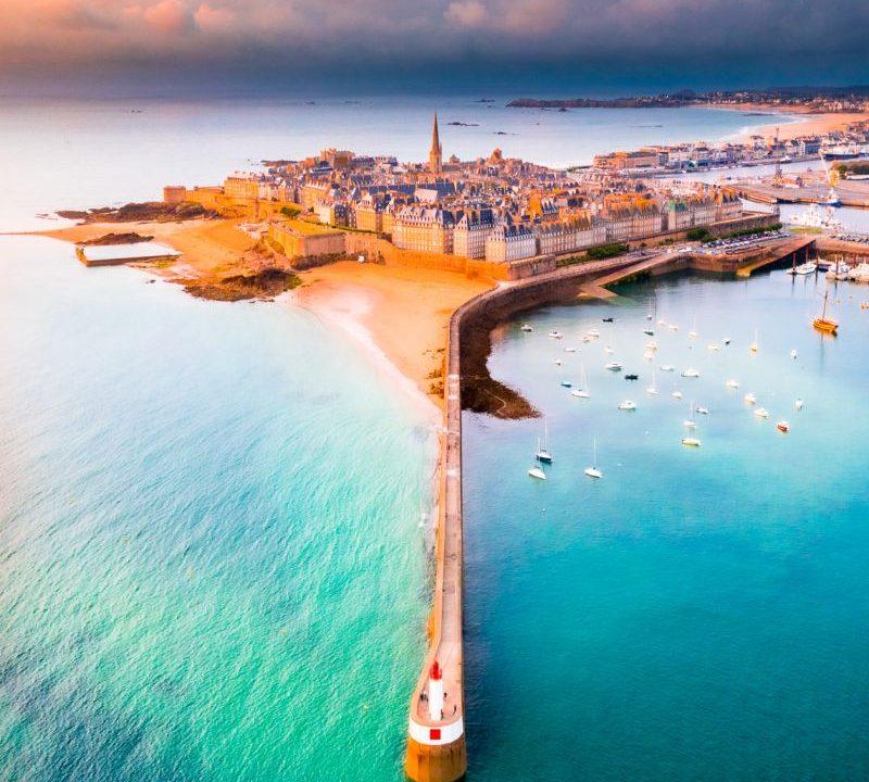 Et voilà Saint-Malo! la Cité Corsaire!